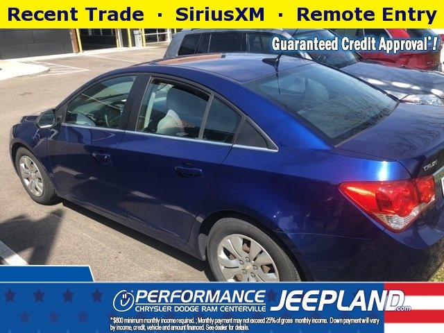 USED 2012 CHEVROLET CRUZE LS FWD 4D SEDAN