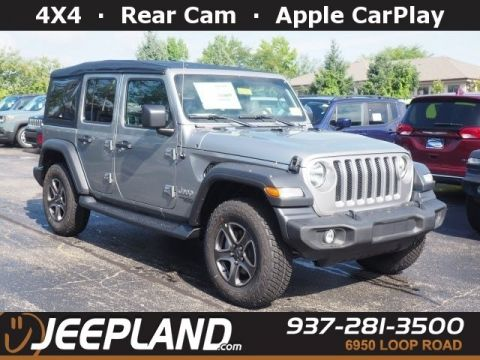 Jeep Dealers Dayton Ohio >> New 2020 JEEP Wrangler Unlimited Sport S Sport Utility in ...